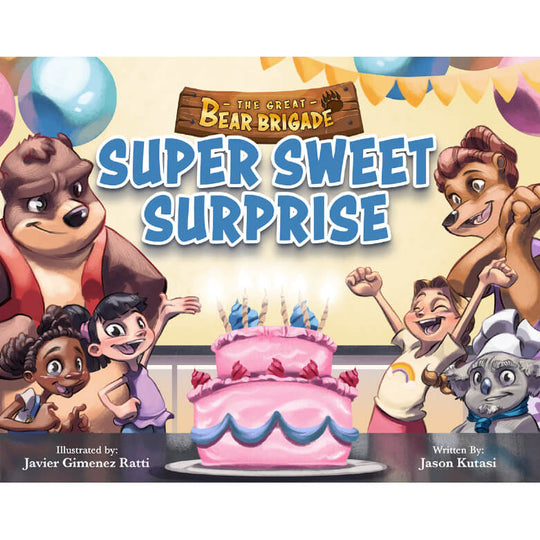 The Great Bear Brigade: Super Sweet Surprise + Big Bubble Trouble (2 Books)