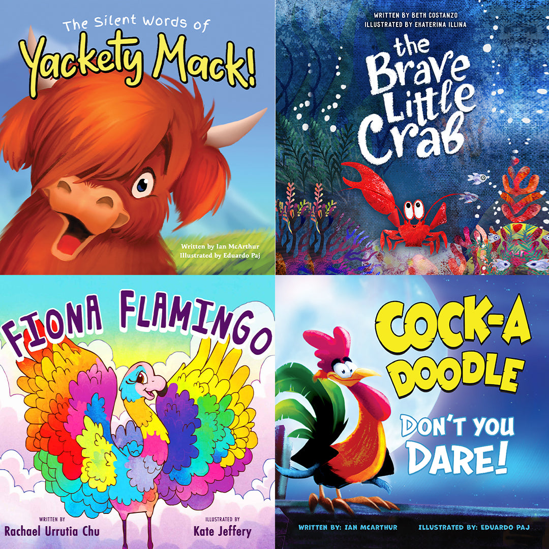 Yackety Mack: Be You Bundle (4 Books)