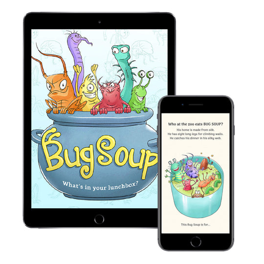 Bug Soup (Digital E-Book)