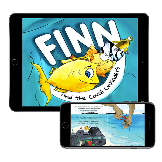 Finn and the Coral Crusaders (Digital E-Book)