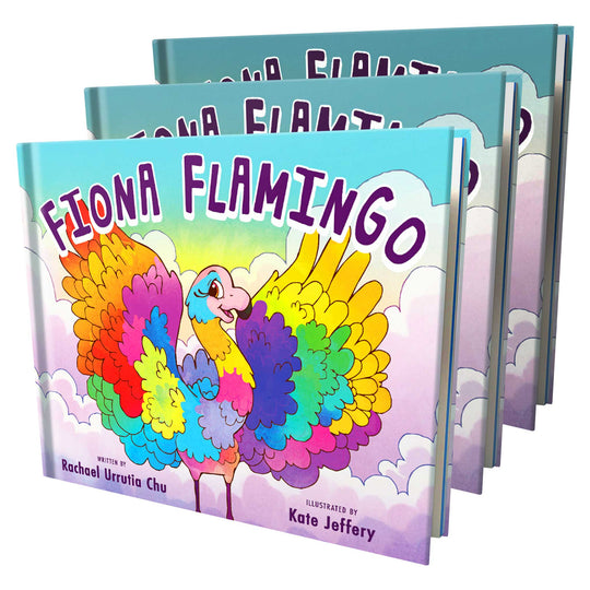 Fiona Flamingo (3 Pack)