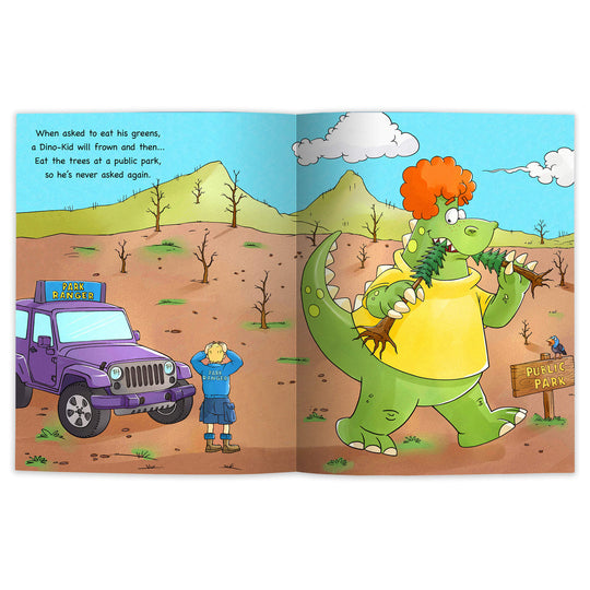 I want to be a... Dino-Kid! (Digital E-Book)