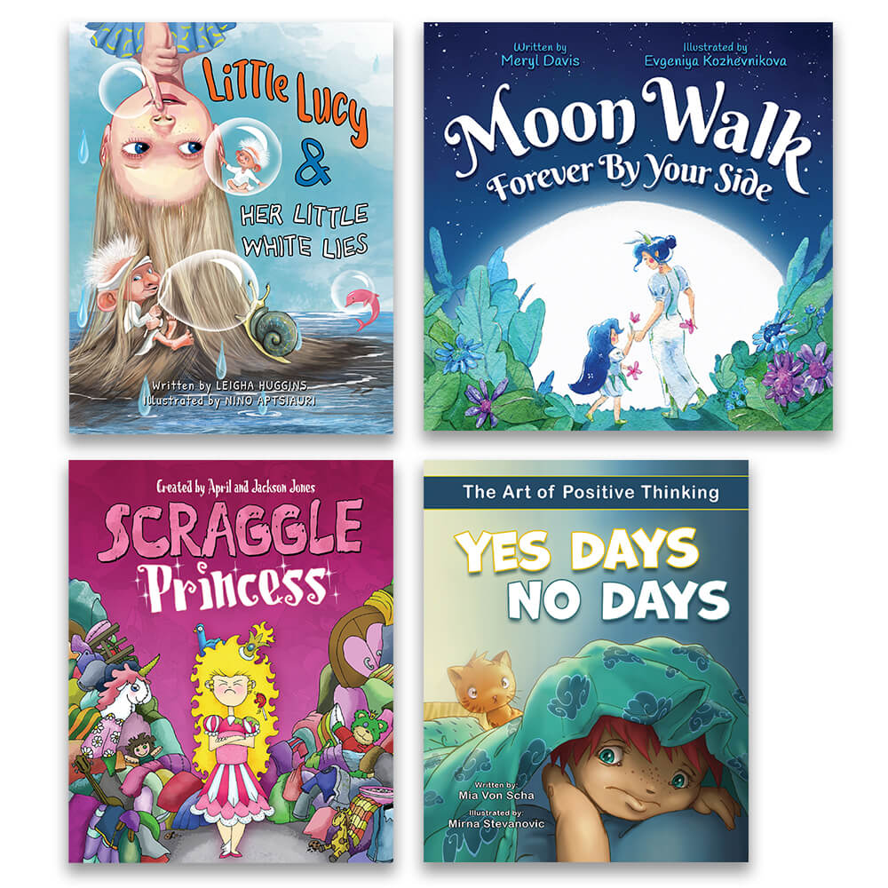 Moon Walk Bundle (4 Books)