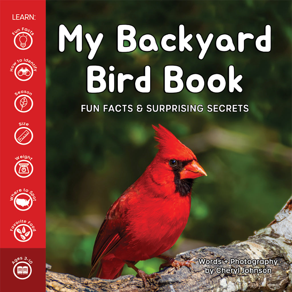 My Backyard Bird Book: Fun Facts & Surprising Secrets