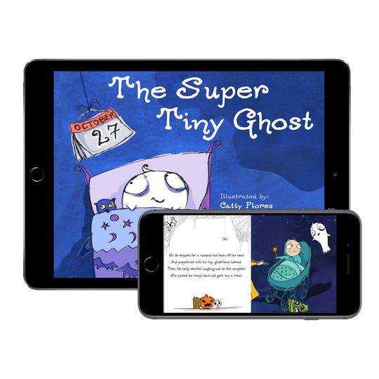 The Super Tiny Ghost (Digital E-Book)