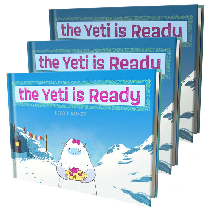 The Yeti is Ready (3 Pack)