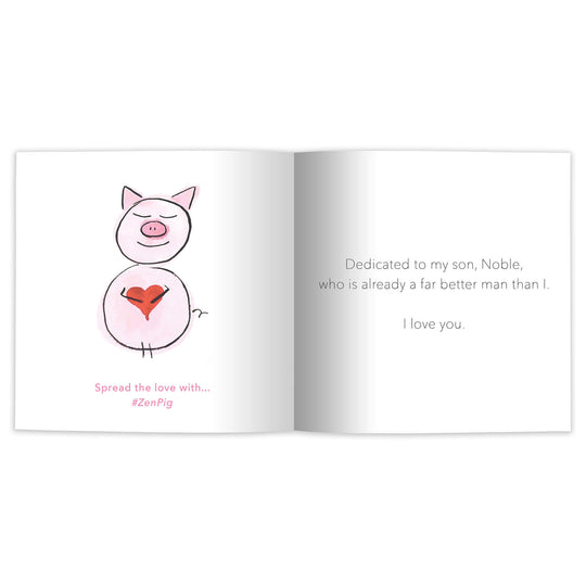 Zen Pig: The Art of Gratitude