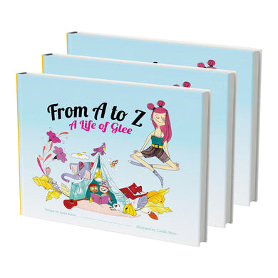 From A to Z: A Life of Glee Hardcover (Book - Premium)
