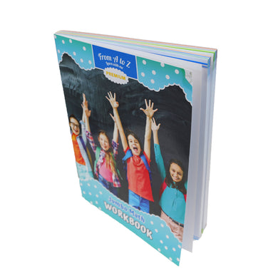 From A to Z: A Life of Glee Hardcover (Math Workbook)