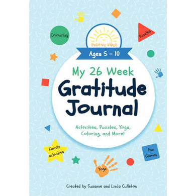 My 26 Week Gratitude Journal
