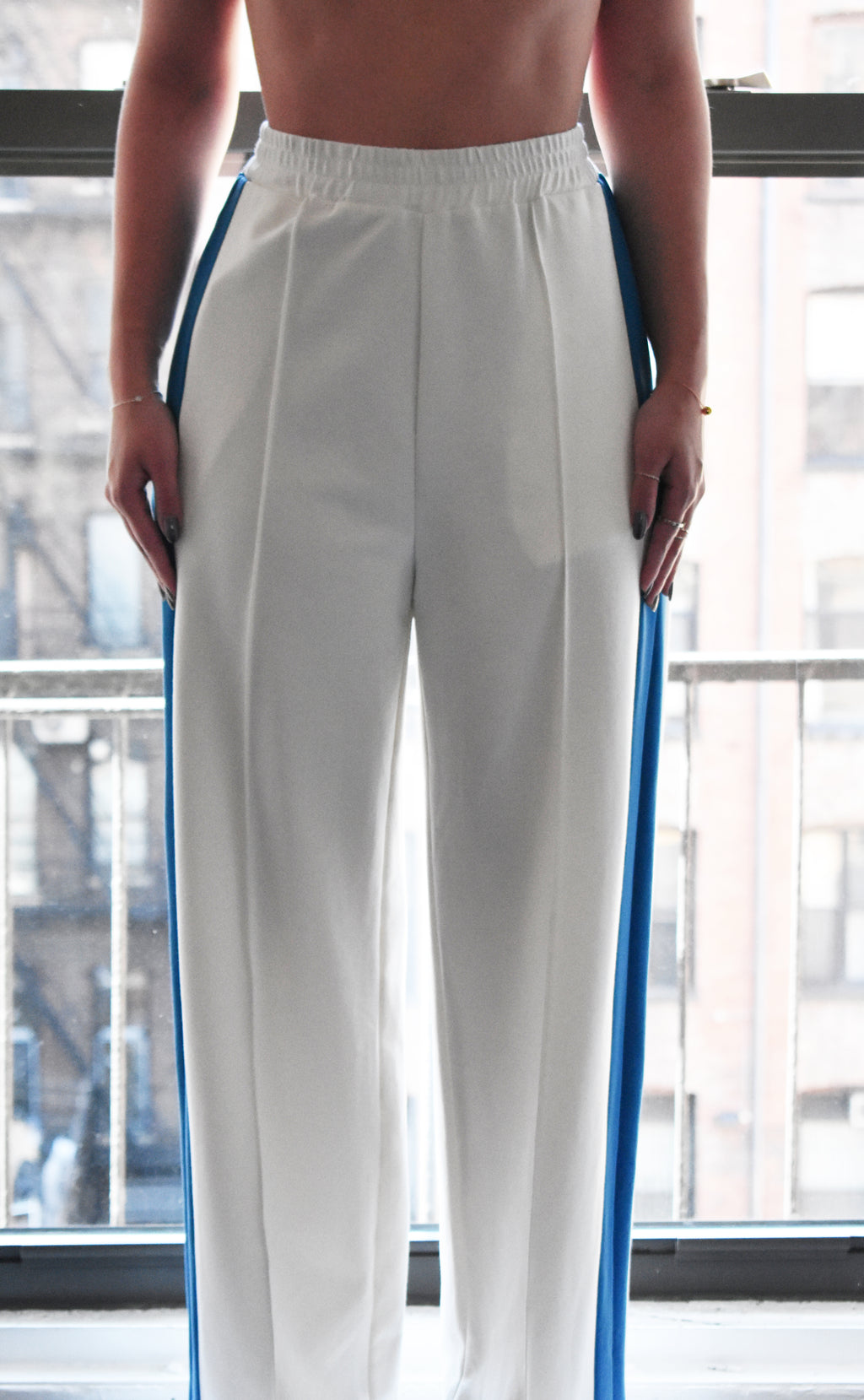 (nude) Side Stripe Pants