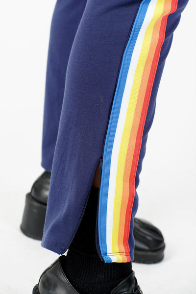 Current Rainbow Brite Track Pants - M/L