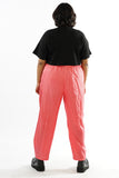 Vintage 90s Pink Sporty Track Pants - XL/2X
