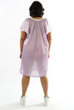 Vintage 90s Purple Nightie Lingerie Dress - L/XL