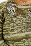 Vintage 90s Jungle Long Sleeve Shirt - XL/2XL