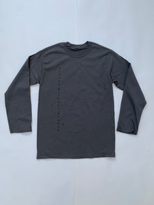 Vertical Long Sleeve - Gray