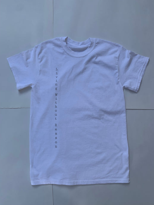 Vertical Short Sleeve - White