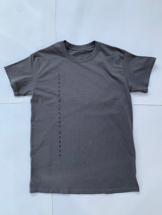 Vertical Short Sleeve - Gray