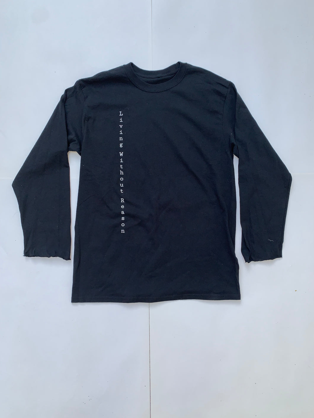 Vertical Long Sleeve - Black