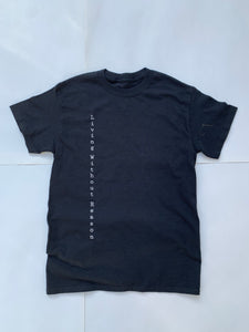 Vertical Short Sleeve - Black