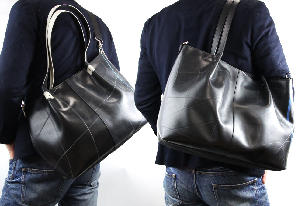 SEAL Recycled Tire Tube Made In Japan Tote For men and ladies