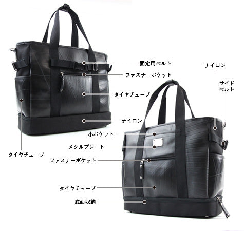 SEAL Weekender Tote With Shoe Compartment PS060 Design Details
