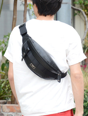 SEAL Sling bag made in Japan Recycled tire tube