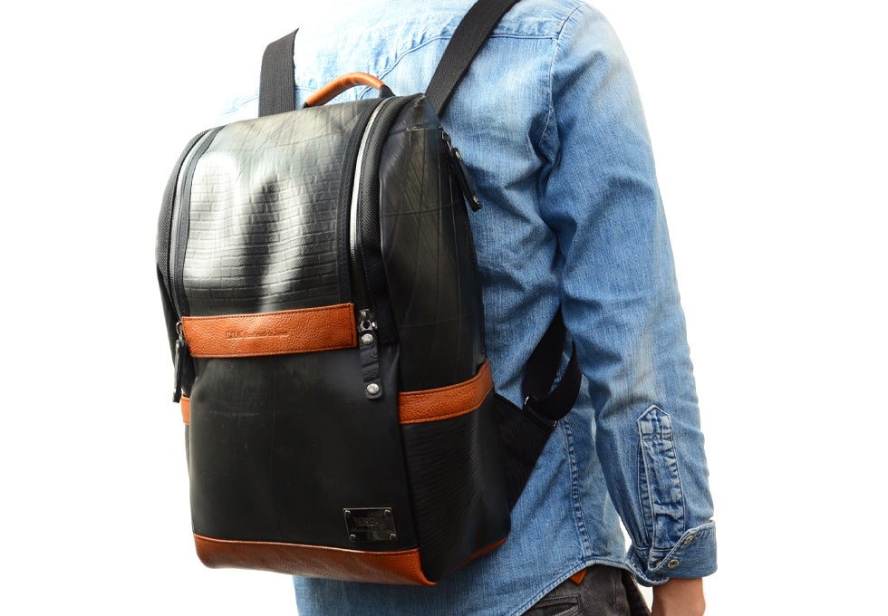 SEAL Recycled Tire Tube Made In Japan Backpack