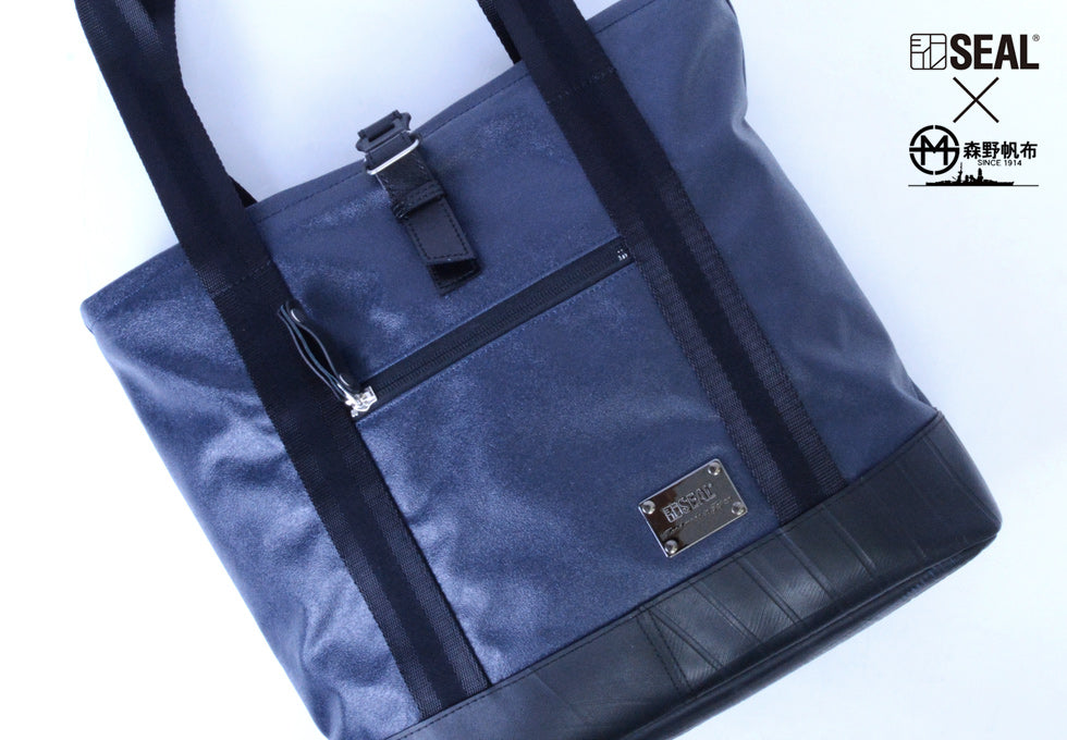 SEAL Recycled Tire Tube Made In Japan Morino Canvas Tote