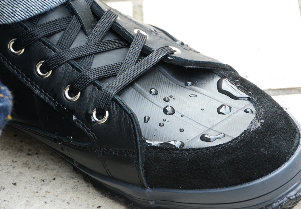 SEAL Recycled Tire Tube Made In Japan High Top Sneakers