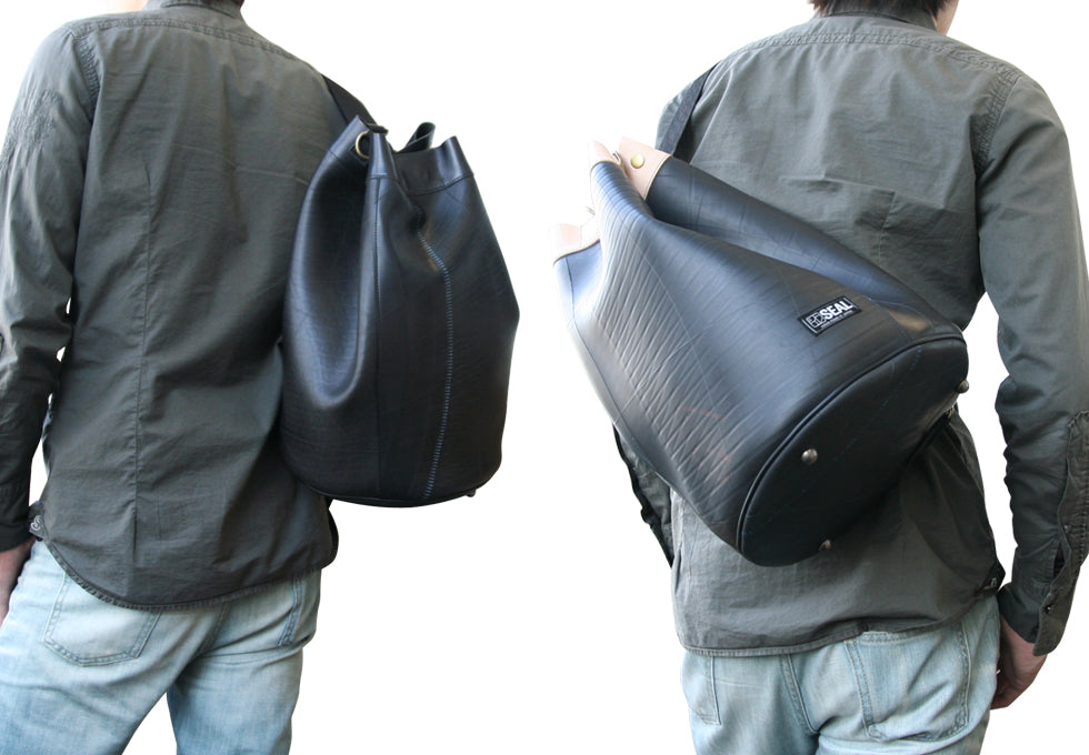 SEAL Recycled Tire Tube Made In Japan Bucket Bag