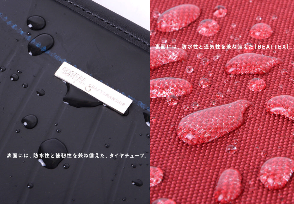 SEAL Expandable BEATTEX Sacoche PS152 Strong Water Repellent Power