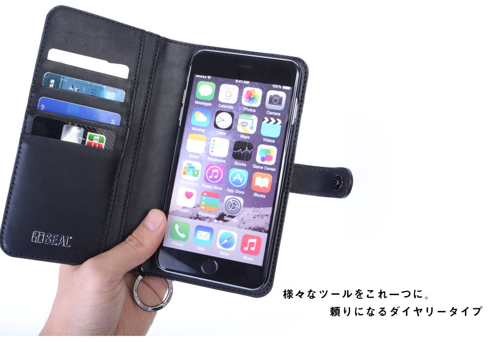 SEAL Recycled Tire Tube Made In Japan iPhone6Plus Case