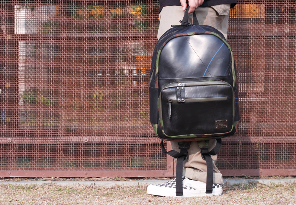 SEAL Recycled Tire Tube Japan Made Backpack