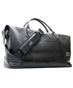 SEAL x Morino Canvas Luggage Bag MS0013 BLACK Side View
