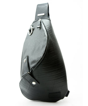 SEAL Morino Canvas Bum Bag MS0250 BLACK Front View
