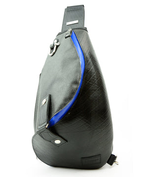 SEAL Morino Canvas Bum Bag MS0250 BLUE Front View