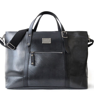 SEAL Work Tote for Men PS036 PLAIN BLACK Front View