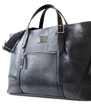 SEAL Work Tote for Men PS036 PLAIN BLACK Side View