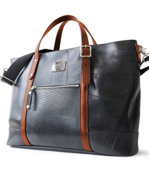 SEAL Work Tote for Men PS036 BROWN Side View