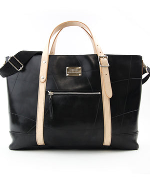 SEAL Work Tote for Men PS036 BEIGE Front View