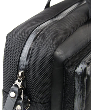 SEAL Carry on Bag for Business Travel BLACK Waterproof Zipper