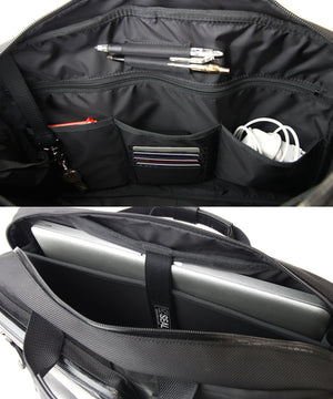 SEAL Carry on Bag for Business Travel BLACK Systematic Compartment
