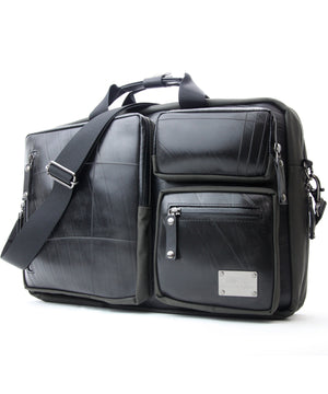 SEAL Carry on Bag for Business Travel GREY Side View