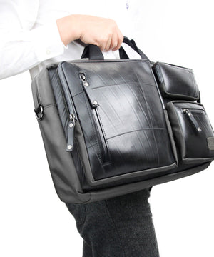 SEAL Carry on Bag for Business Travel GREY Hand Carry View