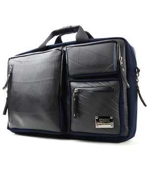 SEAL Carry on Bag for Business Travel NAVY Side View