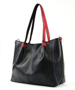 SEAL Japan Made Carry-All Tote PS059 RED Side View