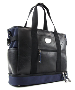 SEAL Weekender Tote With Shoe Compartment PS060 NAVY Front View