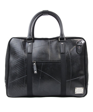 SEAL Briefcase for Men PS064 BLACK Front View