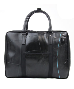 SEAL Briefcase for Men PS064 BLACK Back View